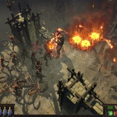 Path of Exile neue Map Screen