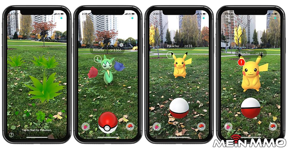 Pokémon GO AR+ Vorschau