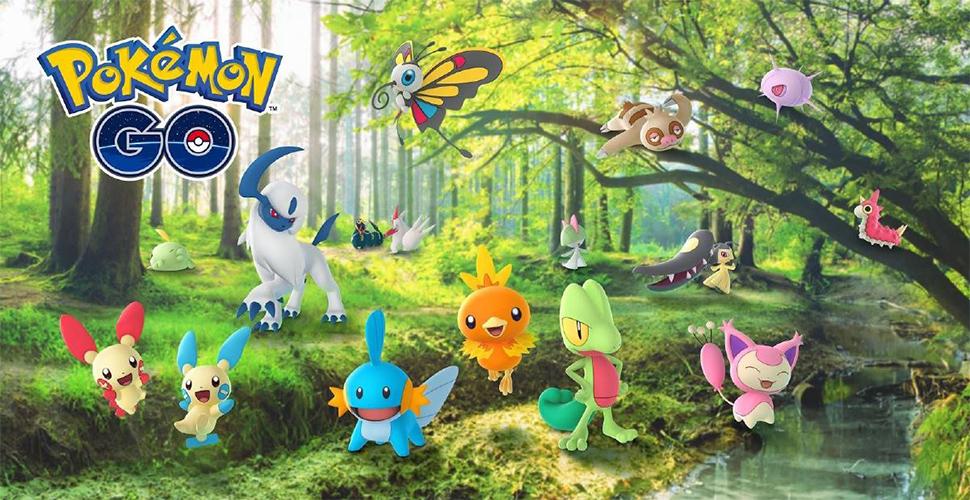 Pokémon GO Gen 3 Titel2b