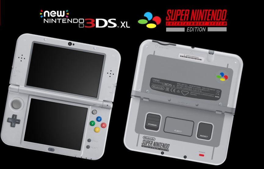 SNES Nintendo 3DS