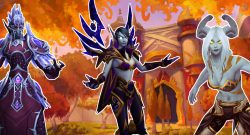 WoW Allied Races Nightborne Voidelf Lightforged Draenei