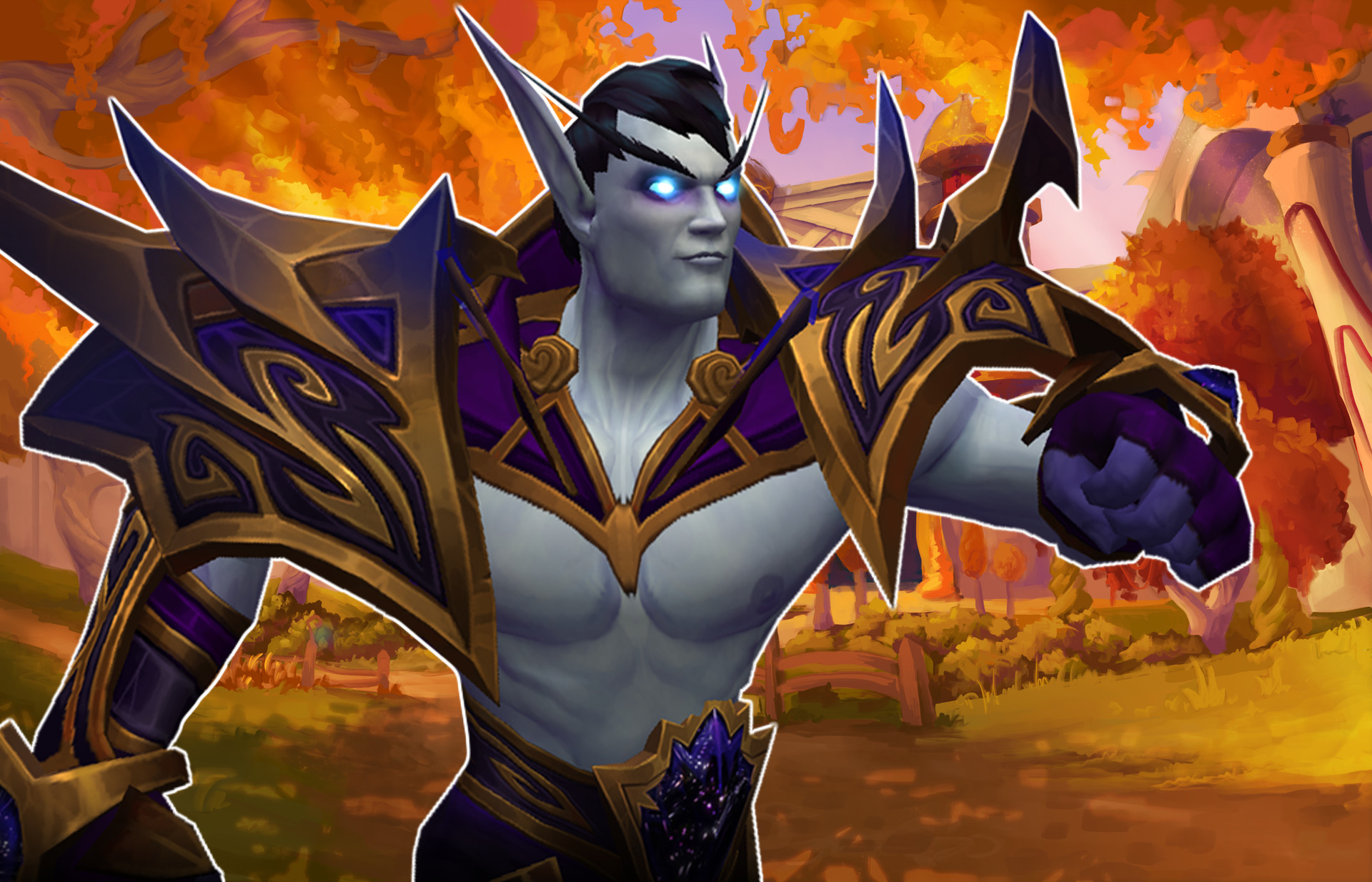 WoW Void Elf Male Silvermoon