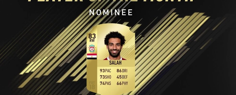 FIFA 18: Mohamed Salah ist Player of the Month März