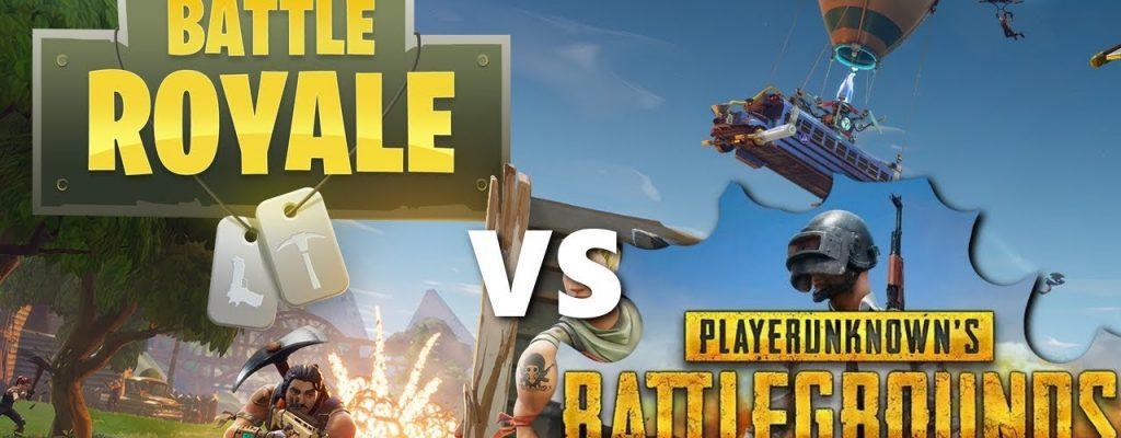 PUBG vs Fortnite im Vergleich – Welches Battle-Royale-Spiel ist besser?
