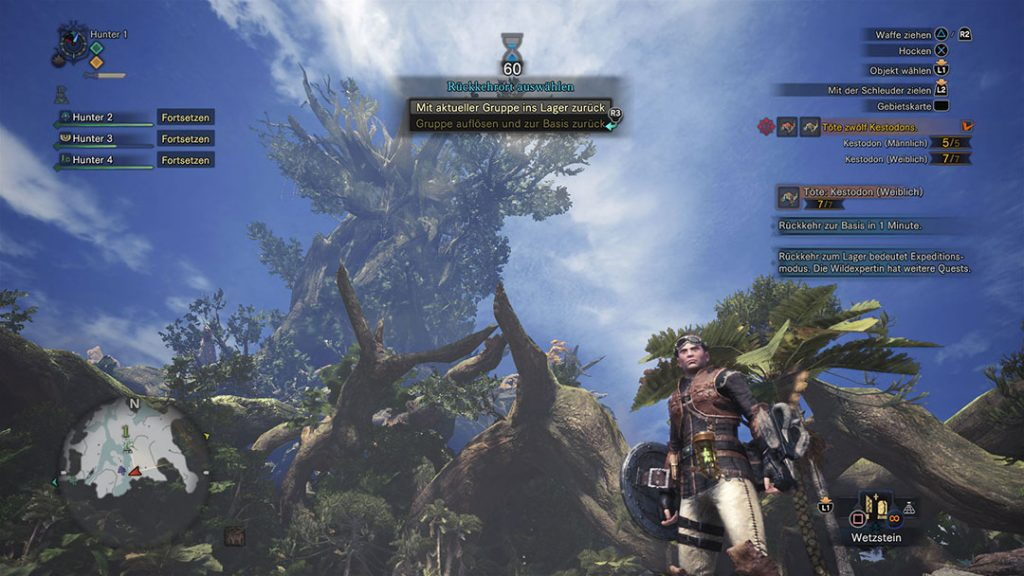 how to join expedition monster hunter world