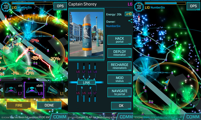 AR Games Ingress