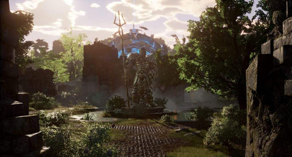 Ashes of Creation MMO Umgebung