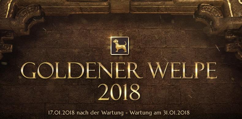 Black Desert Online Goldener Welpe