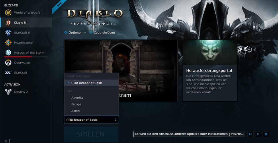Diablo 3 PTR ROS