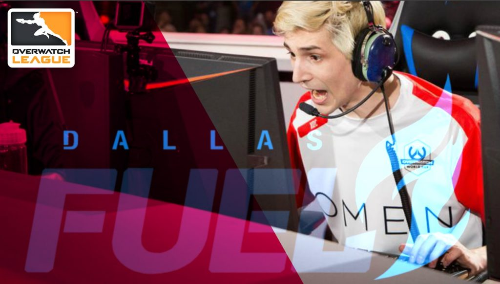 Félix Lengyel xQc Overwatch League Dallas Fuel