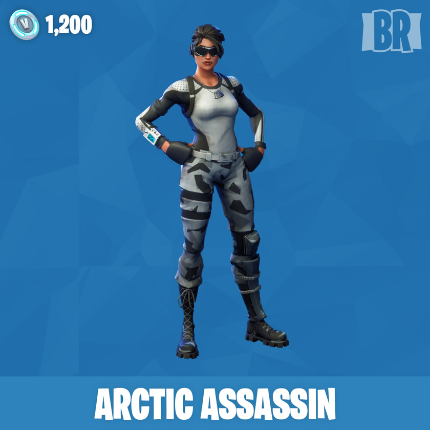fortnite arctic assassin - fortnite skelett skin