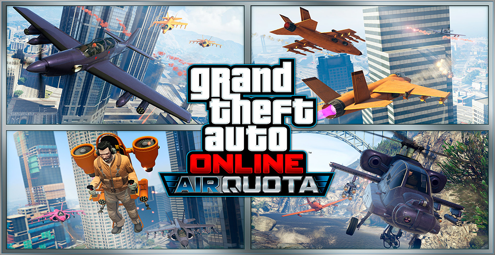 GTA 5 Online Air Quota 2