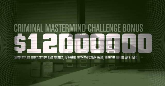 GTA 5 Online Heist Reward