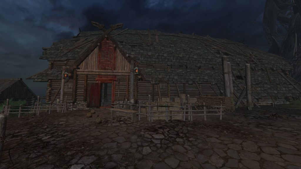 Life is Feudal Anspieltest Dorf Langhaus