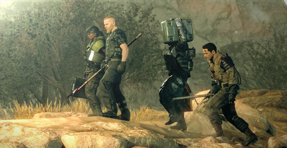 Metal Gear Survive Truppe