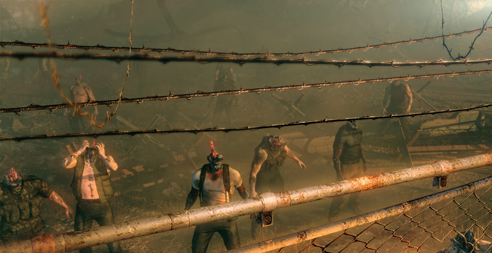 Metal Gear Survive Zombies