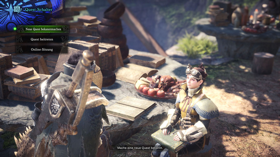 Monster Hunter World Quest bekannt machen
