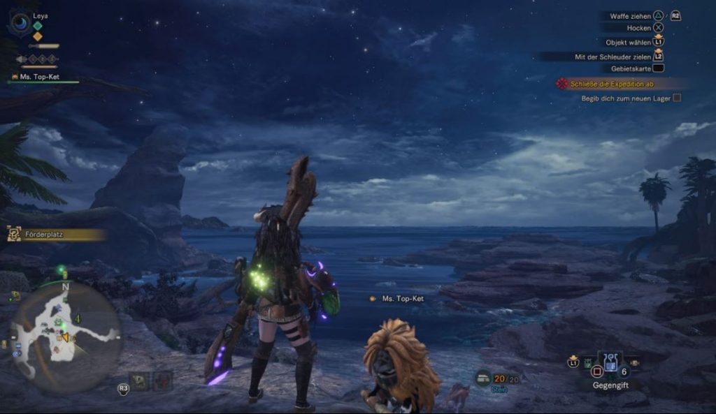 Monster-Hunter-World-Uralter-Wald-Nacht