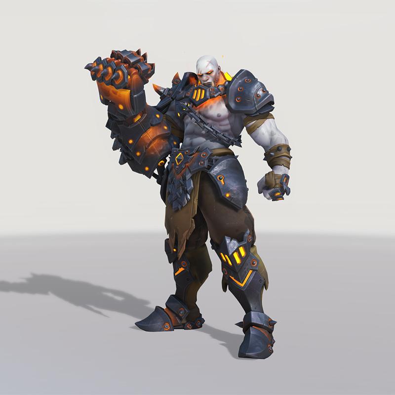 Overwatch Blackhand Doomfist