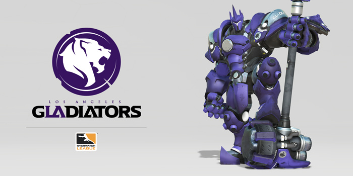 Overwatch Gladiators Reinhardt Skin