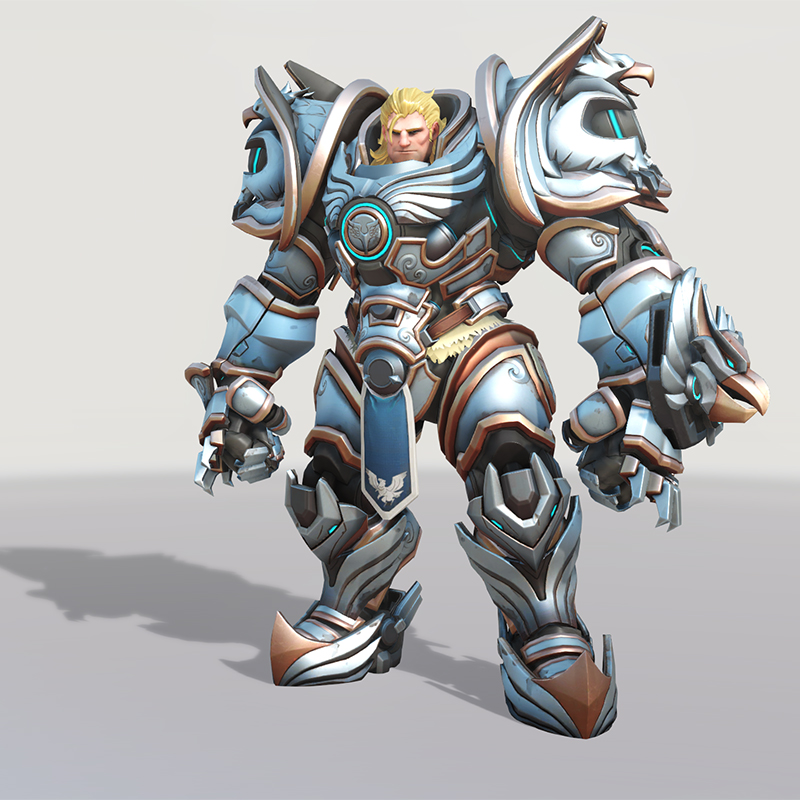 Overwatch Young Reinhardt