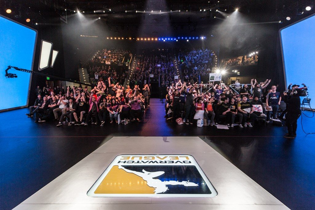 Overwatch league fans bejubeln dallas fuel