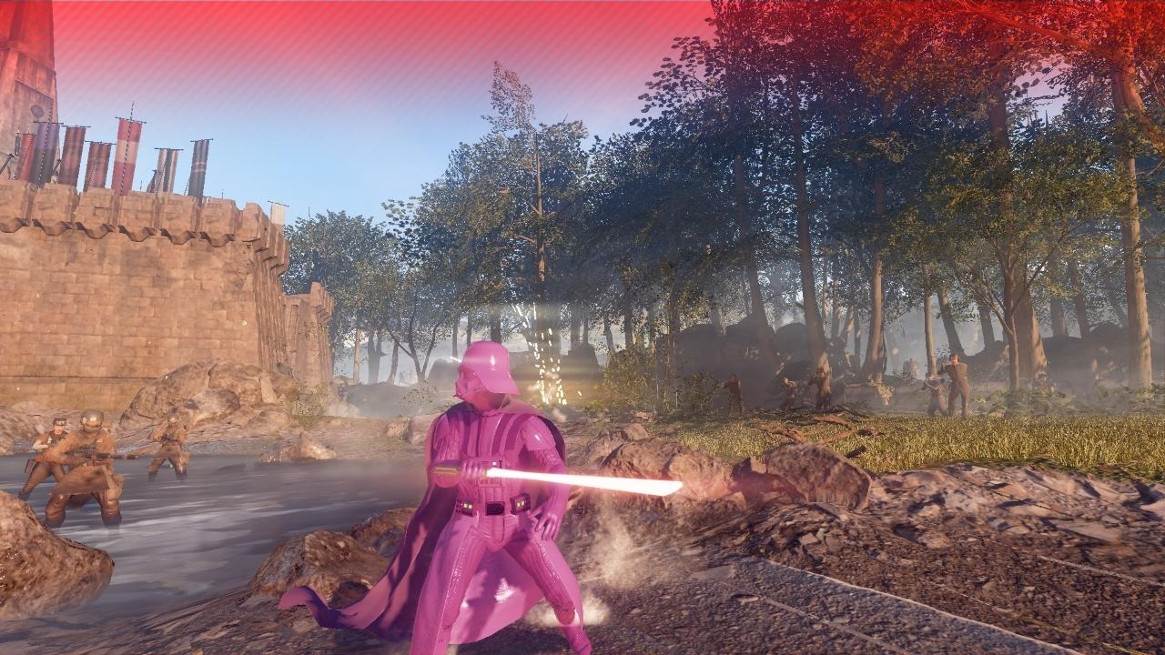 Pinker darth Vader Battlefront 2
