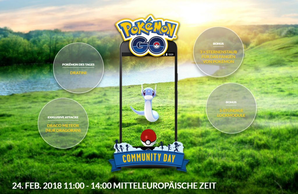 Pokémon GO Community Day 2 mit Attacke