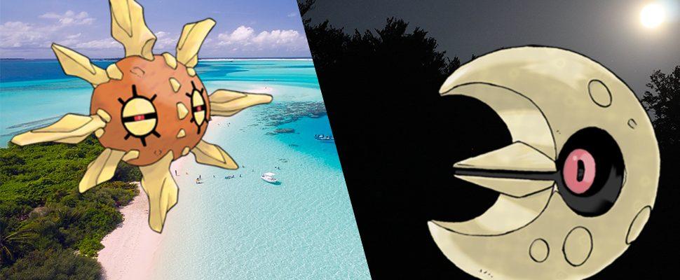 Sonnfel und Lunastein zählen zu den besonderen Monstern in Pokémon GO