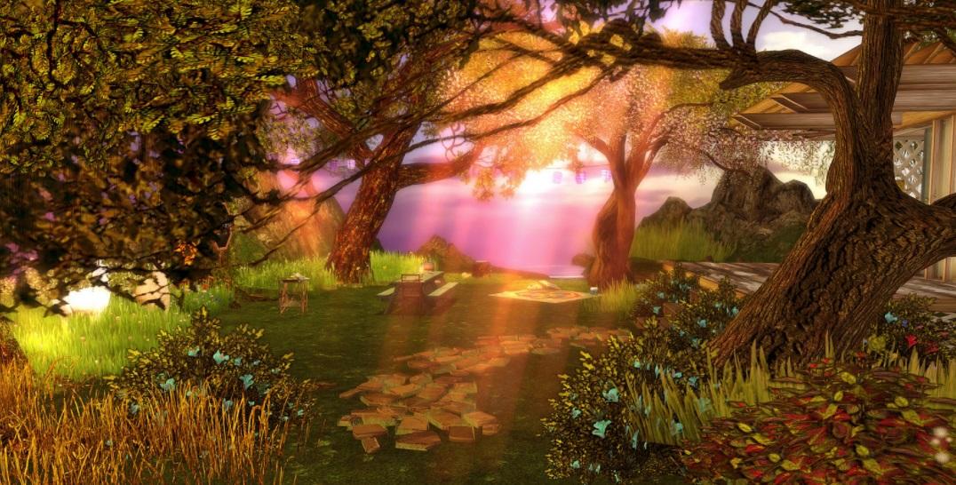 Second Life Landschaft