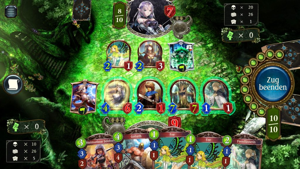Shadowverse Gameplay Forest