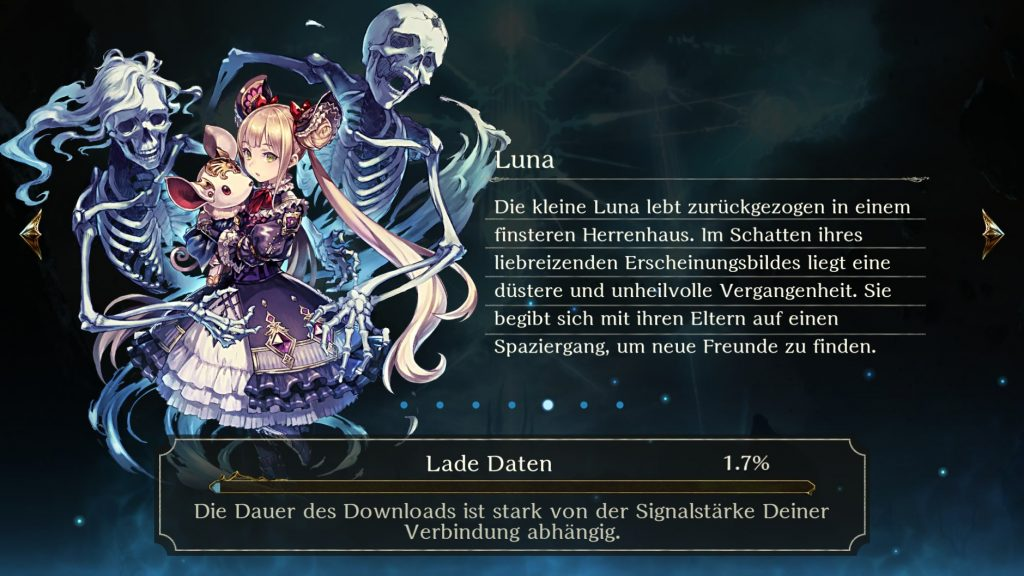 Shadowverse Luna Loading