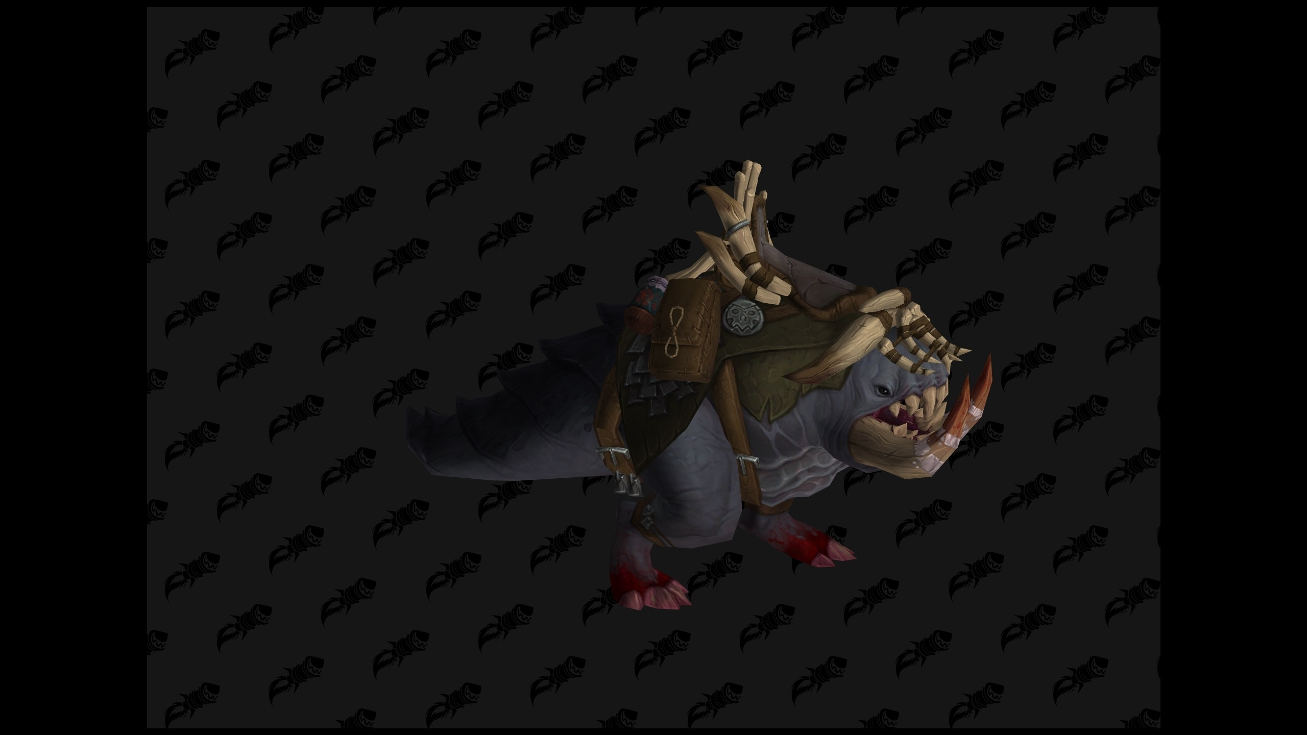 WoW BfA Crawg Mount
