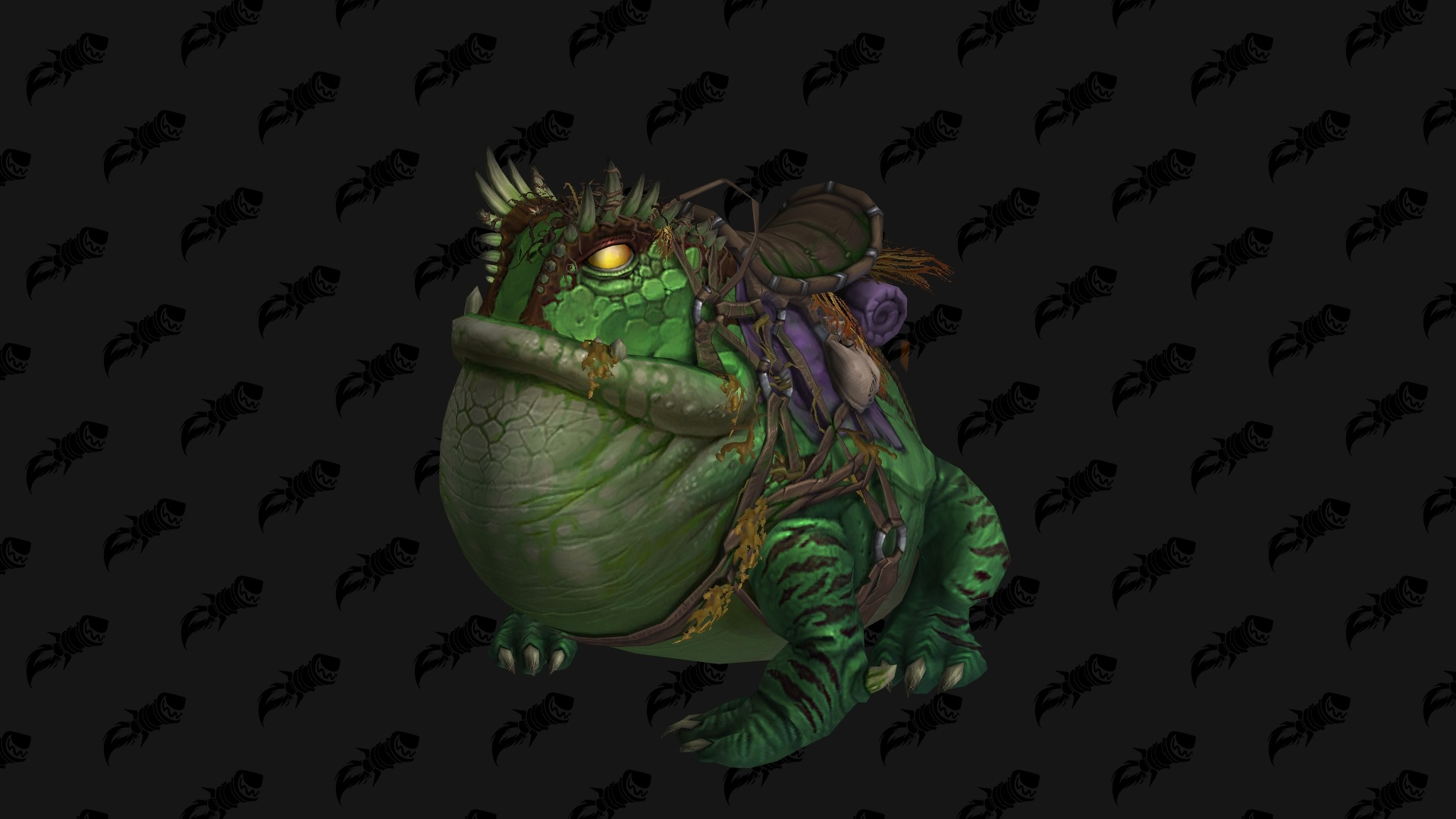 WoW BfA Frog Mount