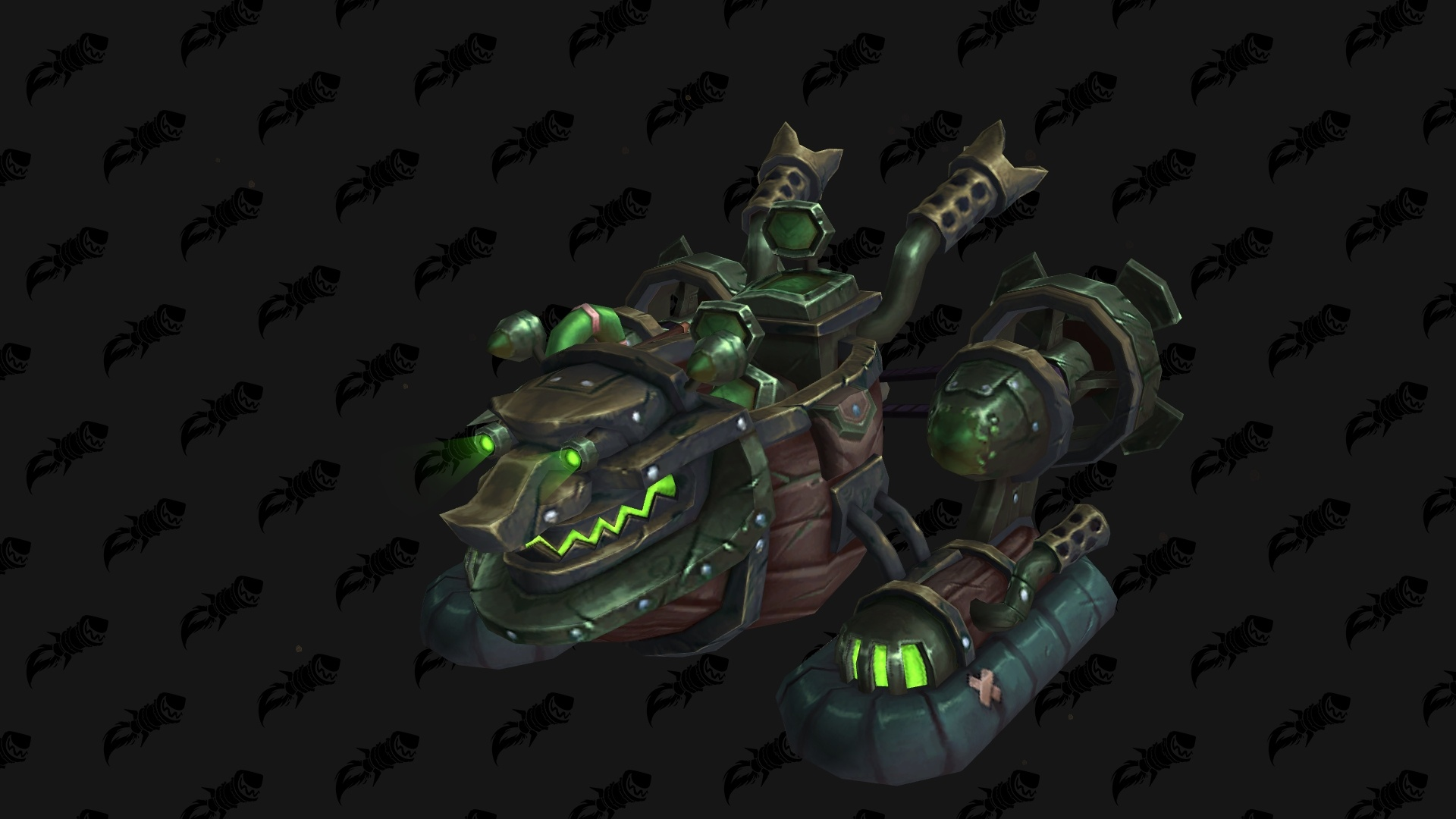 WoW BfA Hovercraft Mount