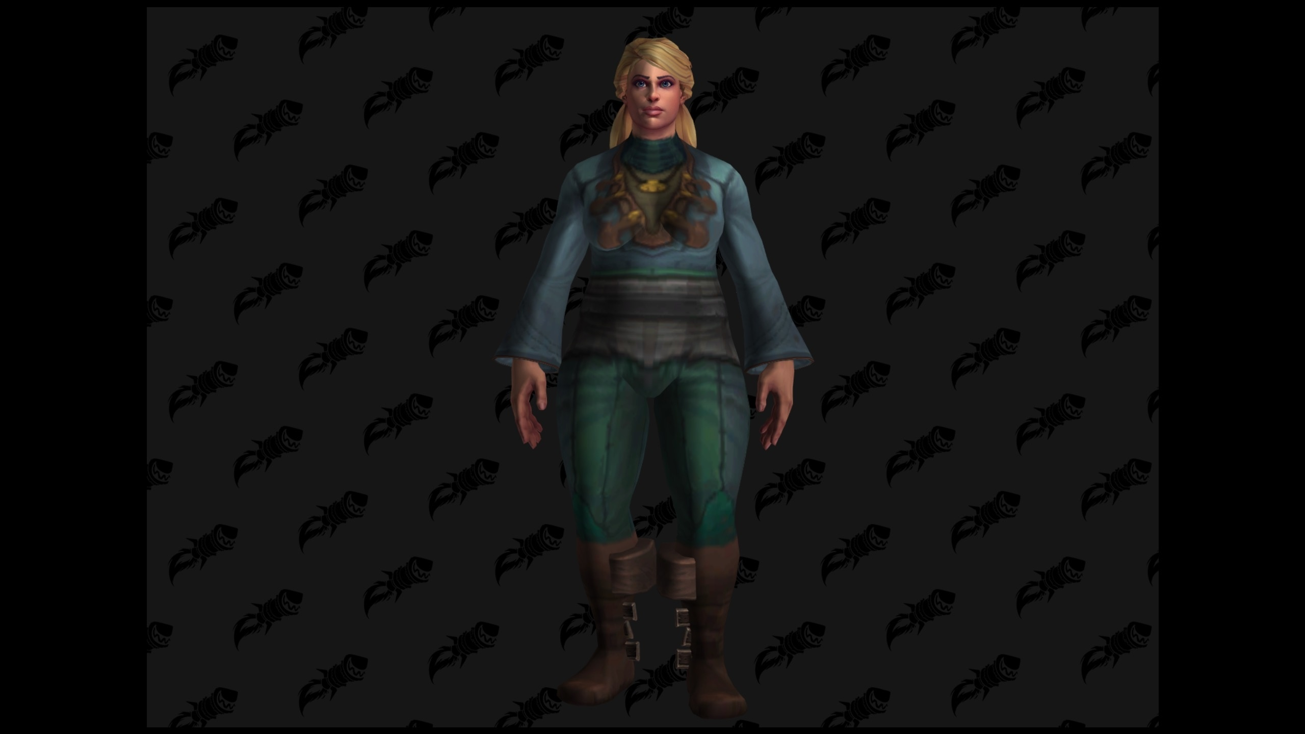 WoW BfA Human chubby female