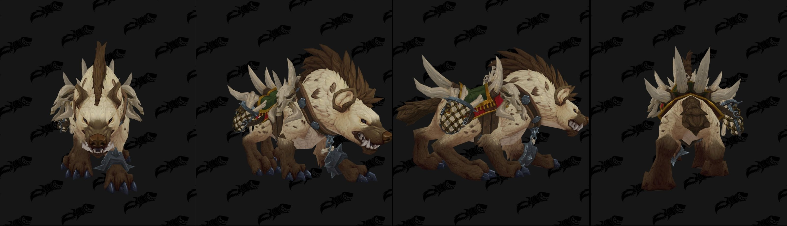 WoW BfA Hyena Mount
