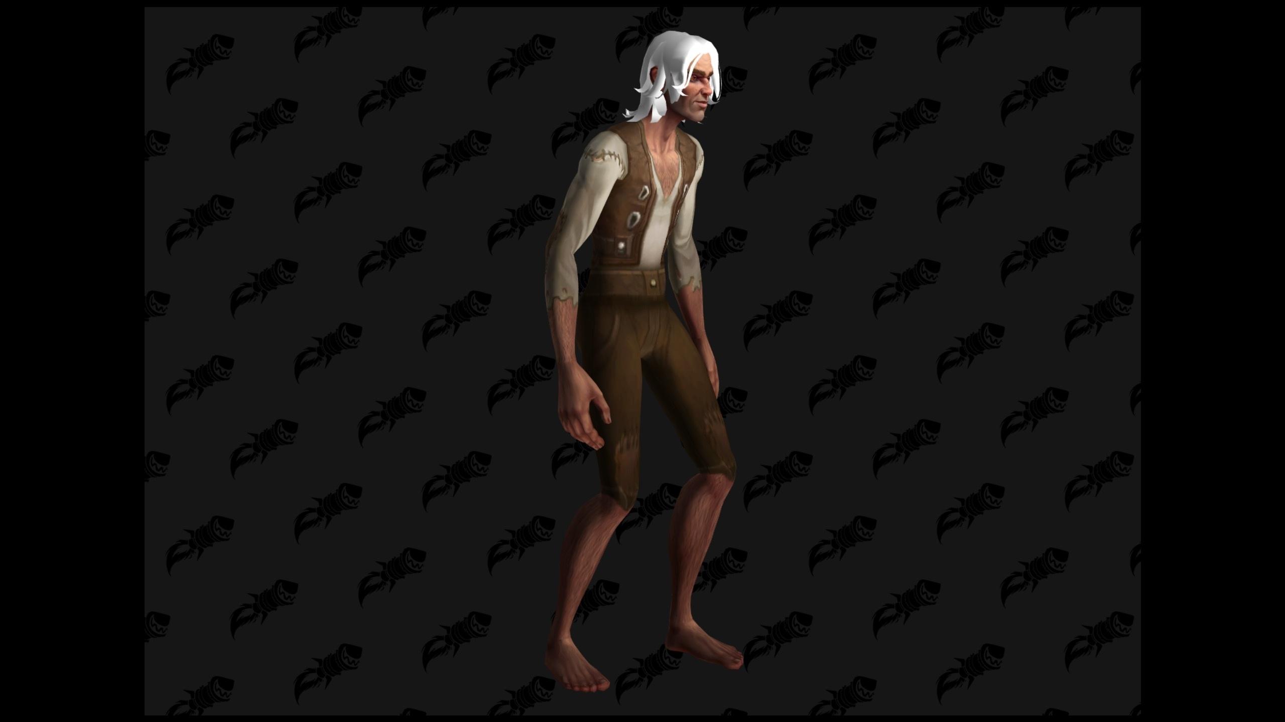 WoW BfA Skinny Human Male