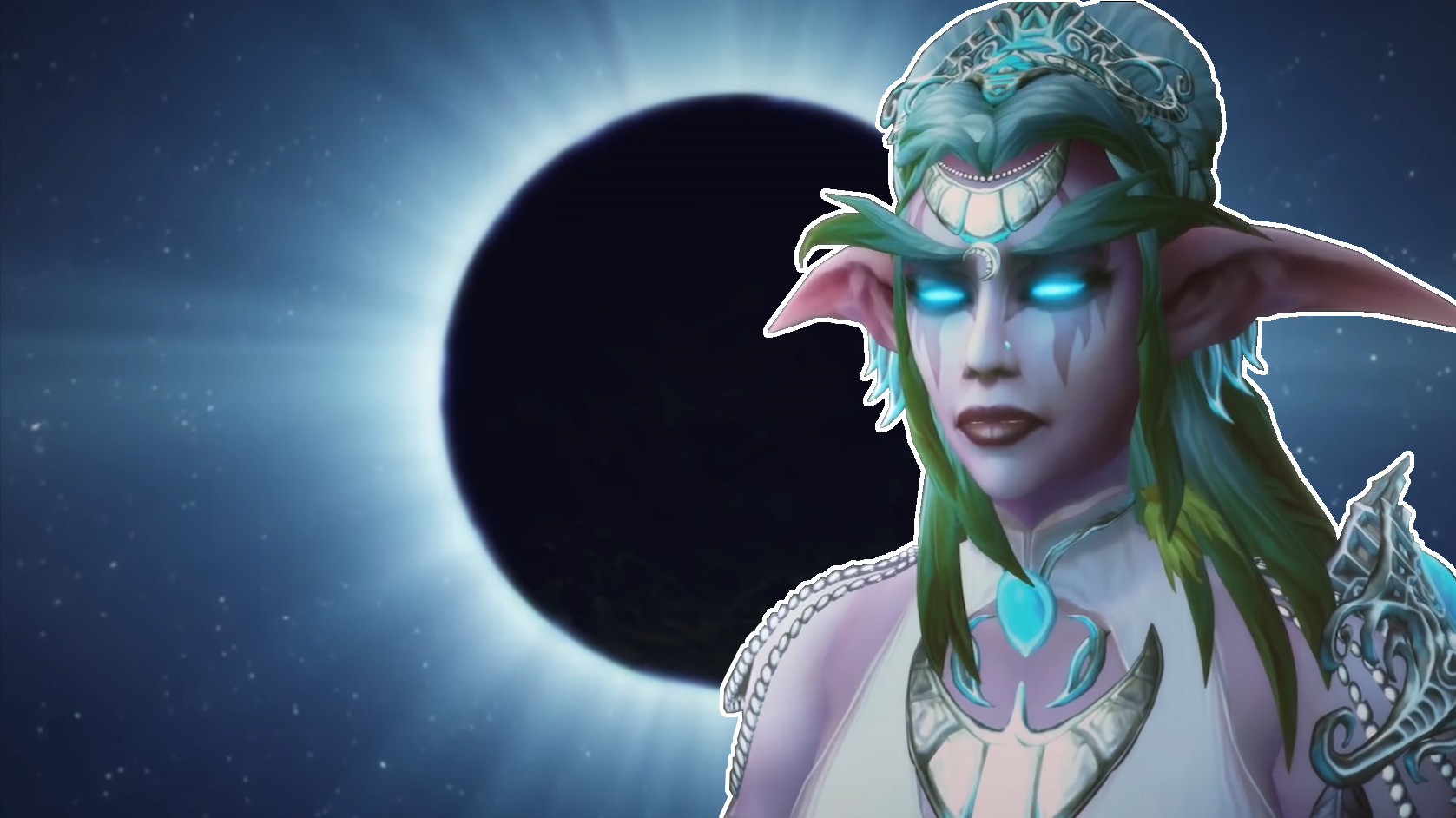 WoW Elune Tyrande Theory title
