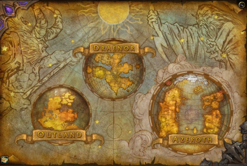 WoW Map Azeroth Shrouded