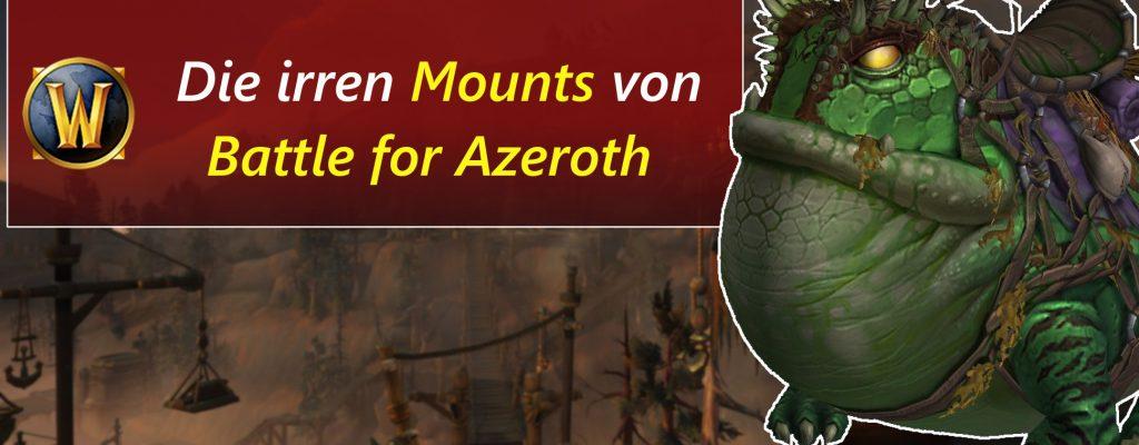Schaut euch die neuen Mounts aus WoW: Battle for Azeroth an