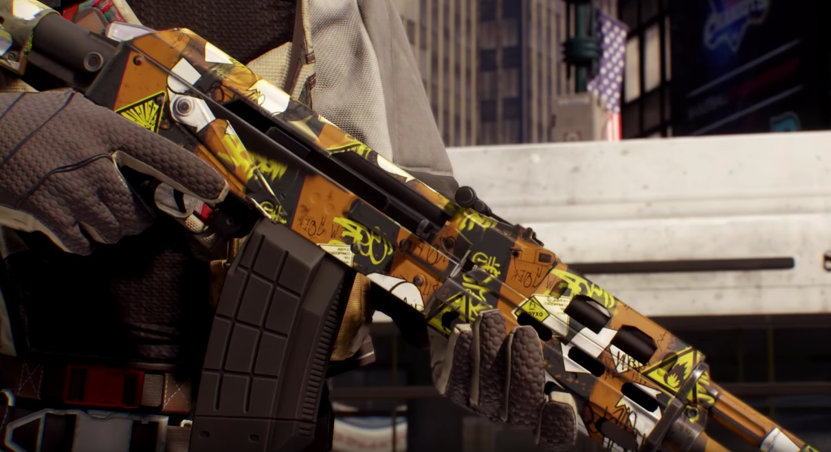 The Division Waffen Skins