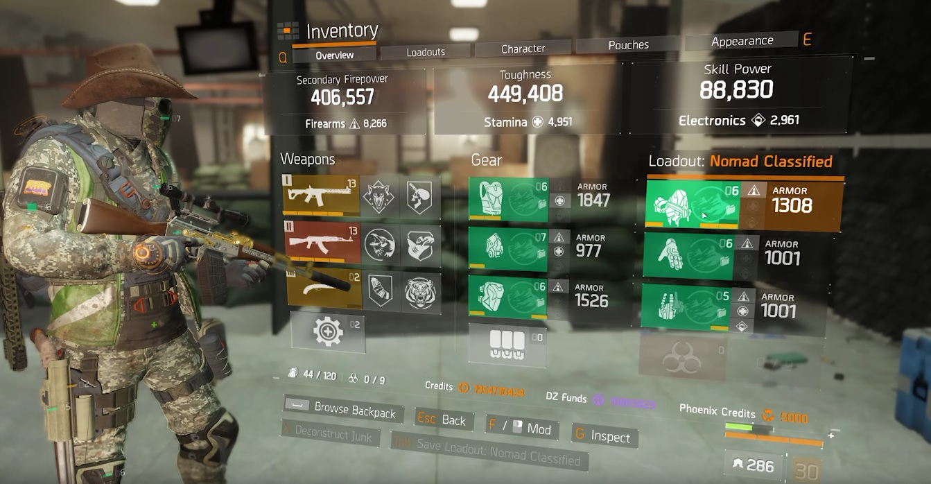 The Division   Best Gear Build