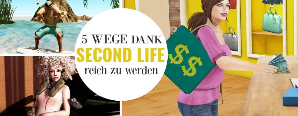5 Wege, mit denen Ihr in Second Life noch immer echtes Geld verdient