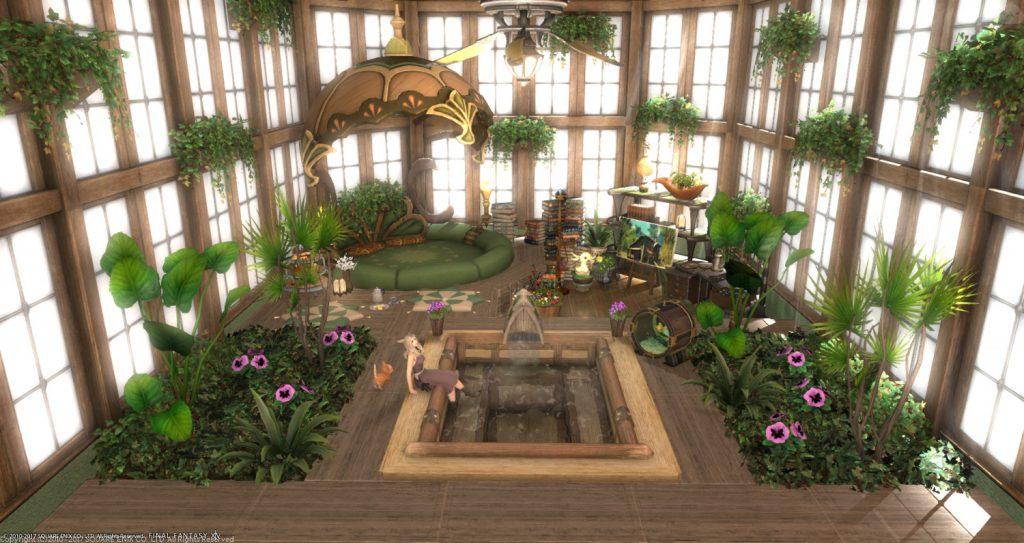 final fantasy xiv housing wintergarten