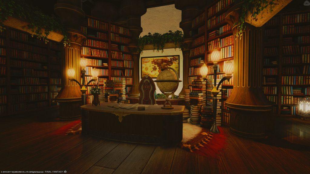 final fantasy xic housing bibliothek arbeitszimmer