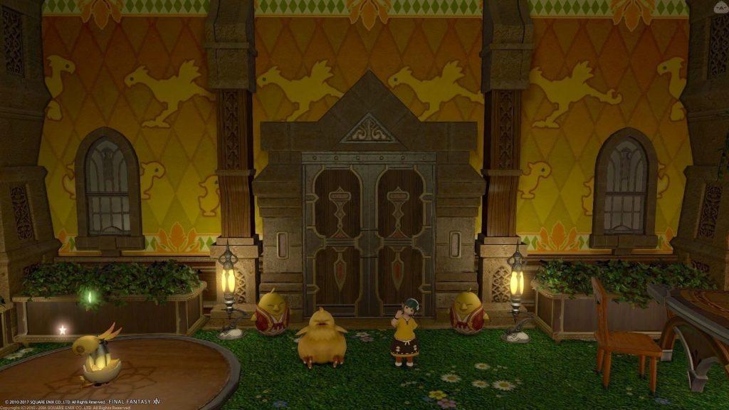 final fantasy xiv housing chocobo tür