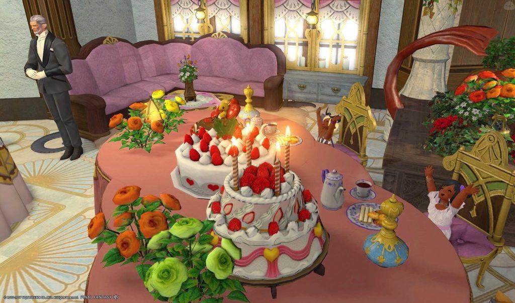 final fantasy xiv housing deko torte