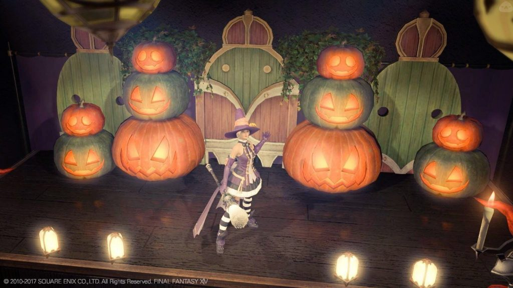 final fantasy xiv housing halloween bühne