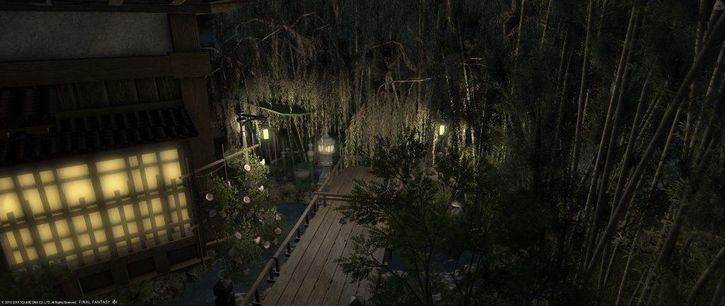 final fantasy housing japanischer garten bambus